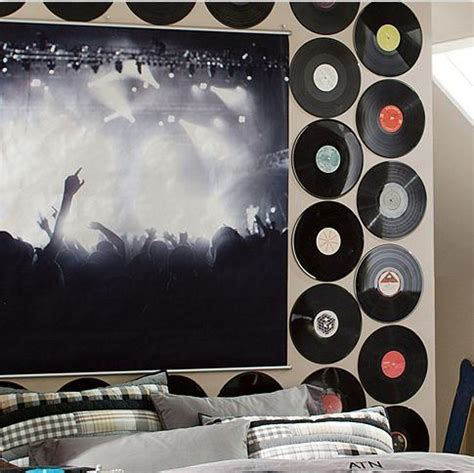bedroom ideas for music lovers 17 best ideas about record decor on pinterest record