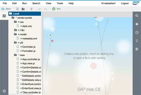 layout editor in sap web ide sap web ide for ui5 development bpse consulting