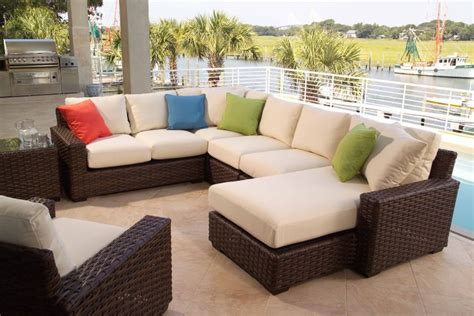 Patio Sectional Outdoor Sectionals Tubs Fireplaces Patio Furniture