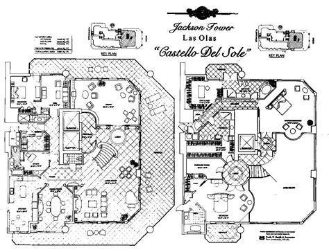 sole fort lauderdale floor plans jackson tower floorplans