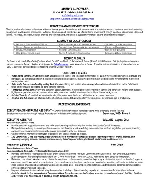 michael bowers resume s fowler 2013 eaa resume