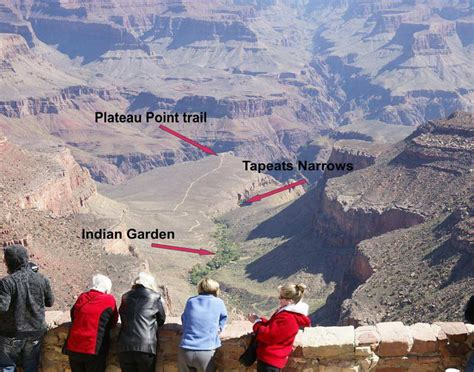 grand indian garden map grand hiking tour page two