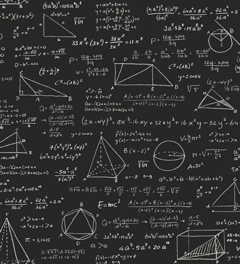 Imagenes A Blanco Y Negro De Matematicas | papel pintado pizarra ecuaciones matem 225 ticas blanco fondo