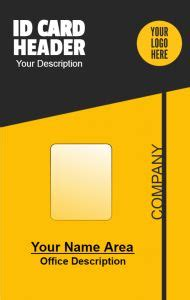 template id card panitia 58 best id card design images on
