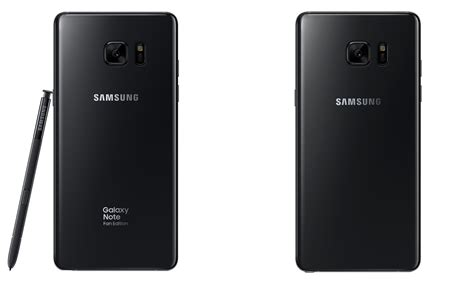 samsung galaxy note 7 fan edition galaxy note fan edition vs galaxy note 7 3 key differences