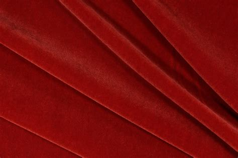 Velvet Upholstery Fabric by Bh Plush Mohair Velvet Upholstery Fabric In Terracotta