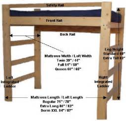 Instructions For Building Loft Beds by Loft Bed Instructions Plans Home Decoration Live