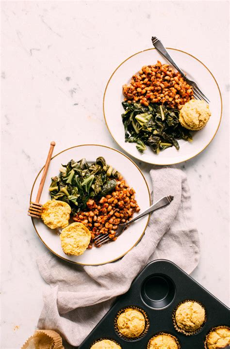 collard greens black eyed peas cornbread earthy feast