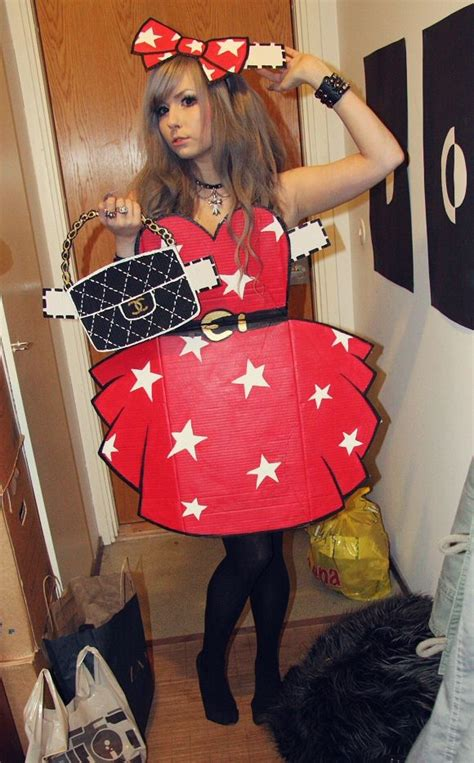 How To Make A Paper Doll Costume - 25 best ideas about paper doll costume on