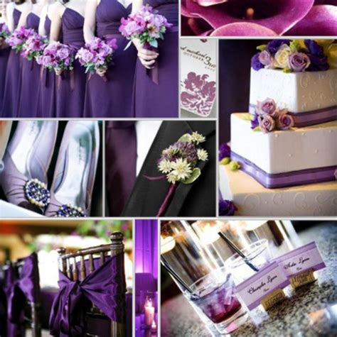 Purple Wedding Decorations by Wedding Decorations For A Purple Wedding Design Bookmark