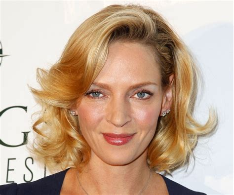 Uma Thurman Wants To Quit Acting To Take Care Of by Uma Thurman Uma Thurman Fakes Gomycity