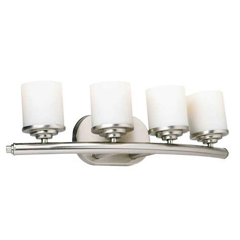 gallego 3 light glass shade vanity light talista 4 light brushed nickel bath vanity light with