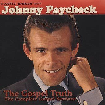 johnny paycheck rugged cross the darlin sound of johnny paycheck the gospel cd 2005 koch records oldies