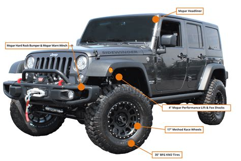 Hb Chrysler Jeep by Jeep Wrangler Side Winder Edition Hb Road Performance