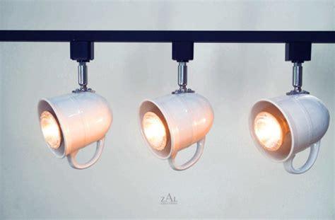 track lighting fixture coffee mug tea cup 3 track lights
