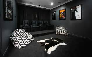 Types Of House Decor Styles Home Theater As Addition To Large Modern Interior Small