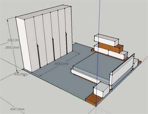 letto su armadio armadio da letto su misura