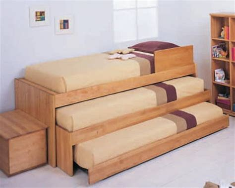 triple decker couch bunk bed ideas for tiny houses for tiny house families