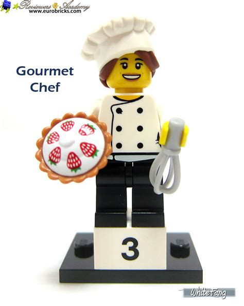 Lego Minifigures Series 17 Gourmet Chef Minifigure Seri 3 Pastry Pi review 71018 lego collectable minifigures series 17 special lego themes eurobricks forums
