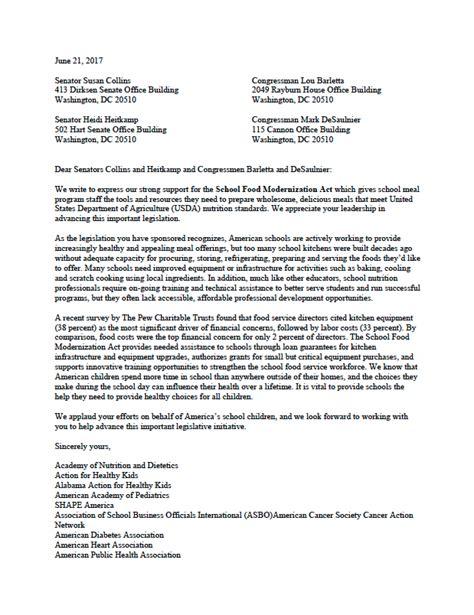 letter of support 2 food modernization act 2017 food 1426