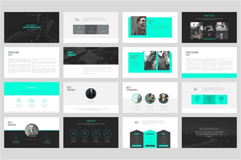 templates for portfolio 20 outstanding professional powerpoint templates
