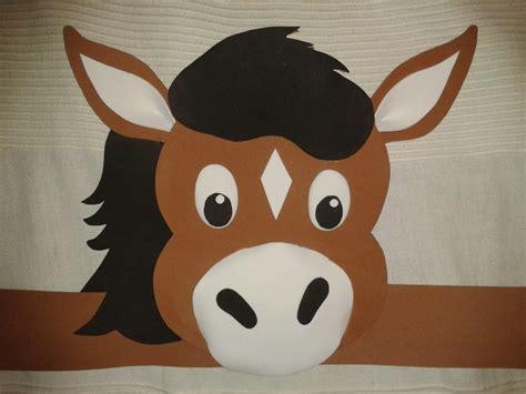 caballo de goma eva apexwallpapers com como hacer una mascara de caballo en foami imagui