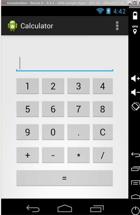 tutorial java calculator android tutorial basic calculator