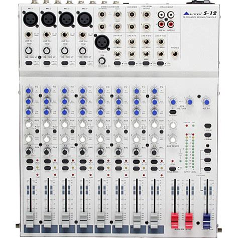 Mixer Alto 12 Ch alto professional s12 12 channel 2 desktop recording