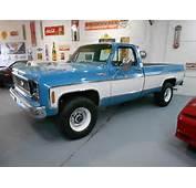 1974 Chevrolet Cheyenne 20 4x4 Original  Used C/k Pickup