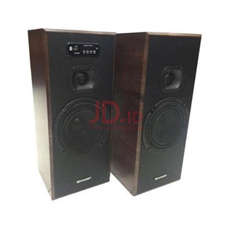 Speaker Aktif Sharp Cbox Asp250bl jual sharp active speaker cbox b635ubo jd id