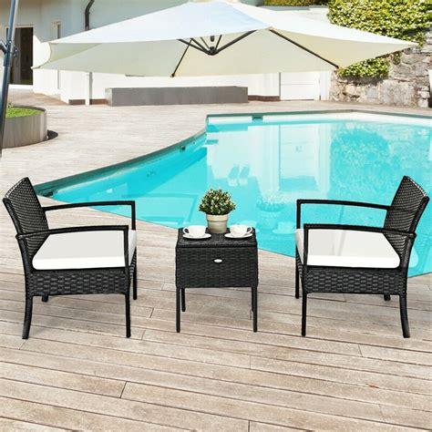 ebern designs gutha outdoor patio furniture  piece rattan