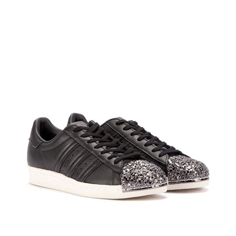 Adidas Superstar 80s 3d Metal Toe Womens Black Bb2033 adidas superstar 80s w quot metal toe quot 3d black black bb2033
