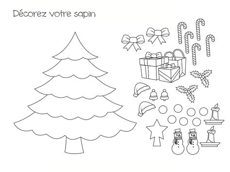 decorate your own christmas tree worksheet coloriage sapin 18 mod 232 les 224 imprimer