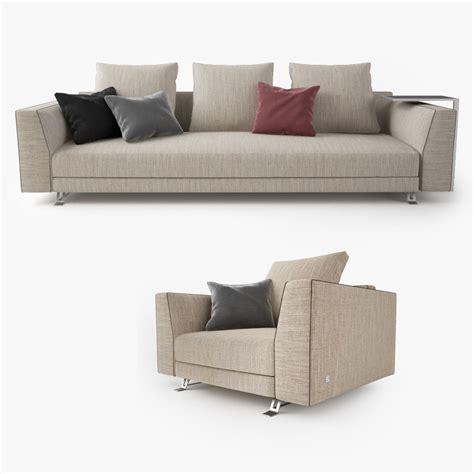 burton sofa busnelli burton sofa 3d model max obj fbx cgtrader