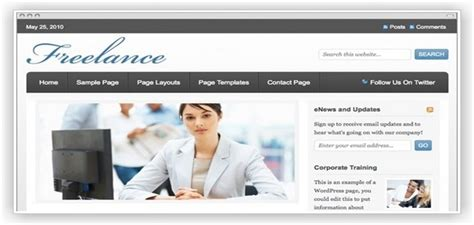 Website Template Like Freelancer Freelance Web Template Templatesspot Templates Popteenus Com Website Template Like Freelancer