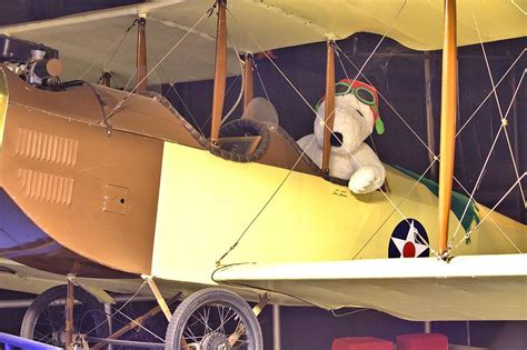 Gorden Snoopy snoopy in his biplane photograph by gordon elwell