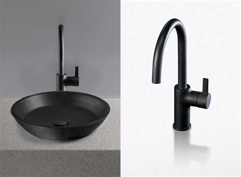 black faucets bathroom black lavatories and faucets waza noir from toto digsdigs