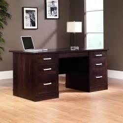 sauder office furniture sauder office port outlet executive desk 29 1 2 quot h x 65 1