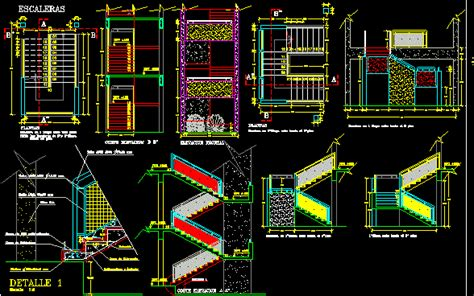 stair section detail dwg detail staircase dwg section for autocad designs cad