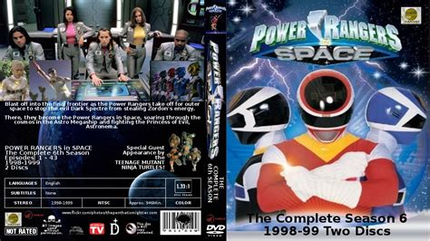 Power Rangers In Space Complete power rangers in space the complete 6th season by gattison13 on deviantart
