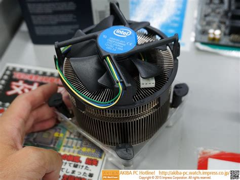 Intel I7 6700k Box No Fan Skylake 1151 Murah intel s most advanced air cooler yet has arrived meet
