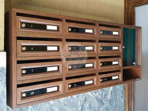 cassetta postale legno cassette postali in legno per esterno spazio