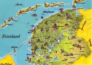 Unique Postcards The World In Postcards Sabine S Blog Friesland Mapcard