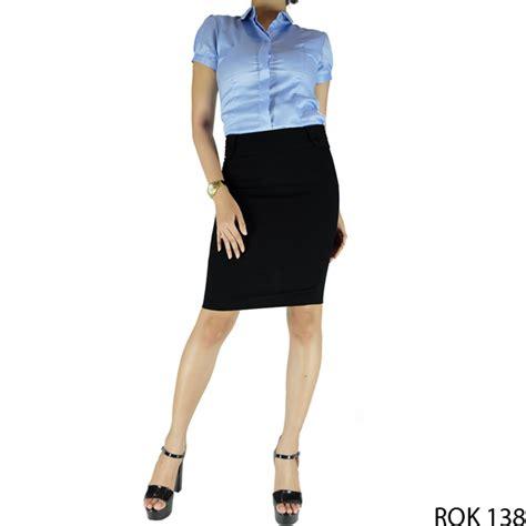 Rok Kaos Rf125 rok diatas lutut katun hitam rok 138 gudang fashion