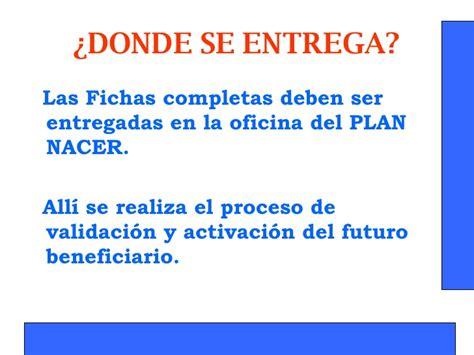 plan nacer 2016 plan nacer catamarca c 243 mo llenar una ficha de inscripci 243 n