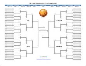 blank ncaa bracket template tournament bracket templates for excel 2016 march
