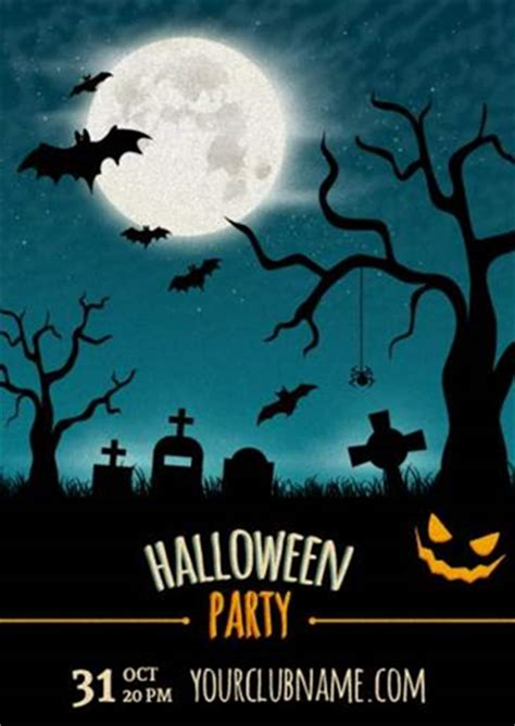 template photoshop halloween halloween poster templates photoshop wroc awski