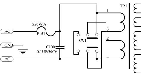 dual primary transformers use switch to choose between