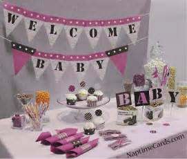 Baby shower decorations 5 baby shower ideas