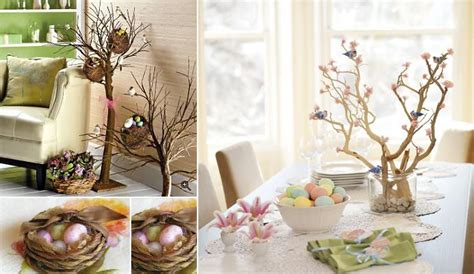 how to make easter decorations for the home natural decor easter decorating ideas